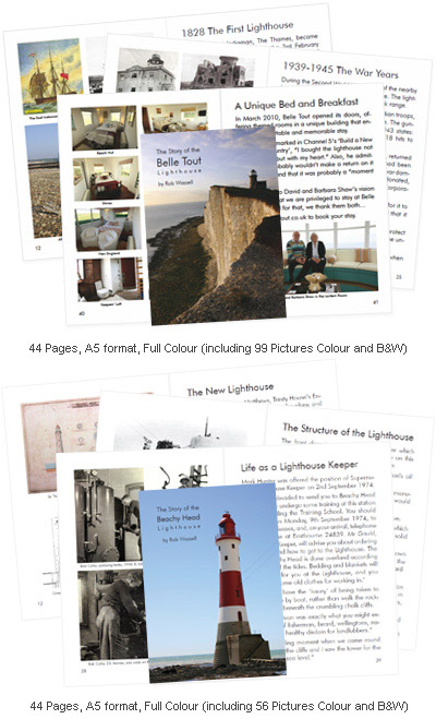 Belle Tout and Beachy Head books by Rob Wassell